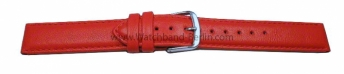 Dorn - echt Leder - Smooth - rot - 8-20 mm