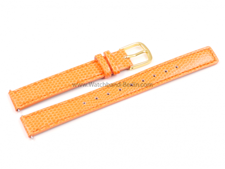 Casio Uhrenarmband Leder orange f. LA670WEGL-4A2EF