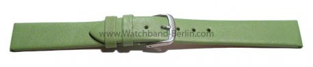 Uhrenarmband Leder Business grün 8-22 mm