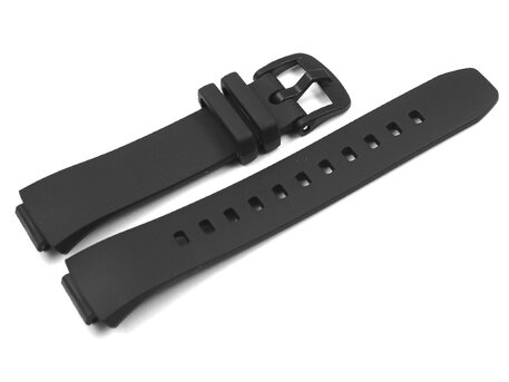 Uhrenarmband Casio Resin schwarz BSA-B100 BSA-B100-1