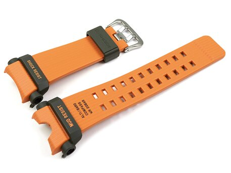 Uhrenarmband Casio Resin orange GG-B100-1A9  für die Carbon Core Guard Modellreihe