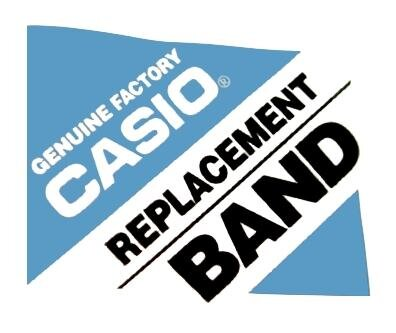 Casio End Links u. Federstege f. Kunststoffband BG-180